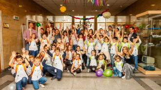 Open doors day for the children of BORICA's employees